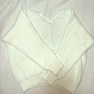 Sweaters - Shein White Sweater